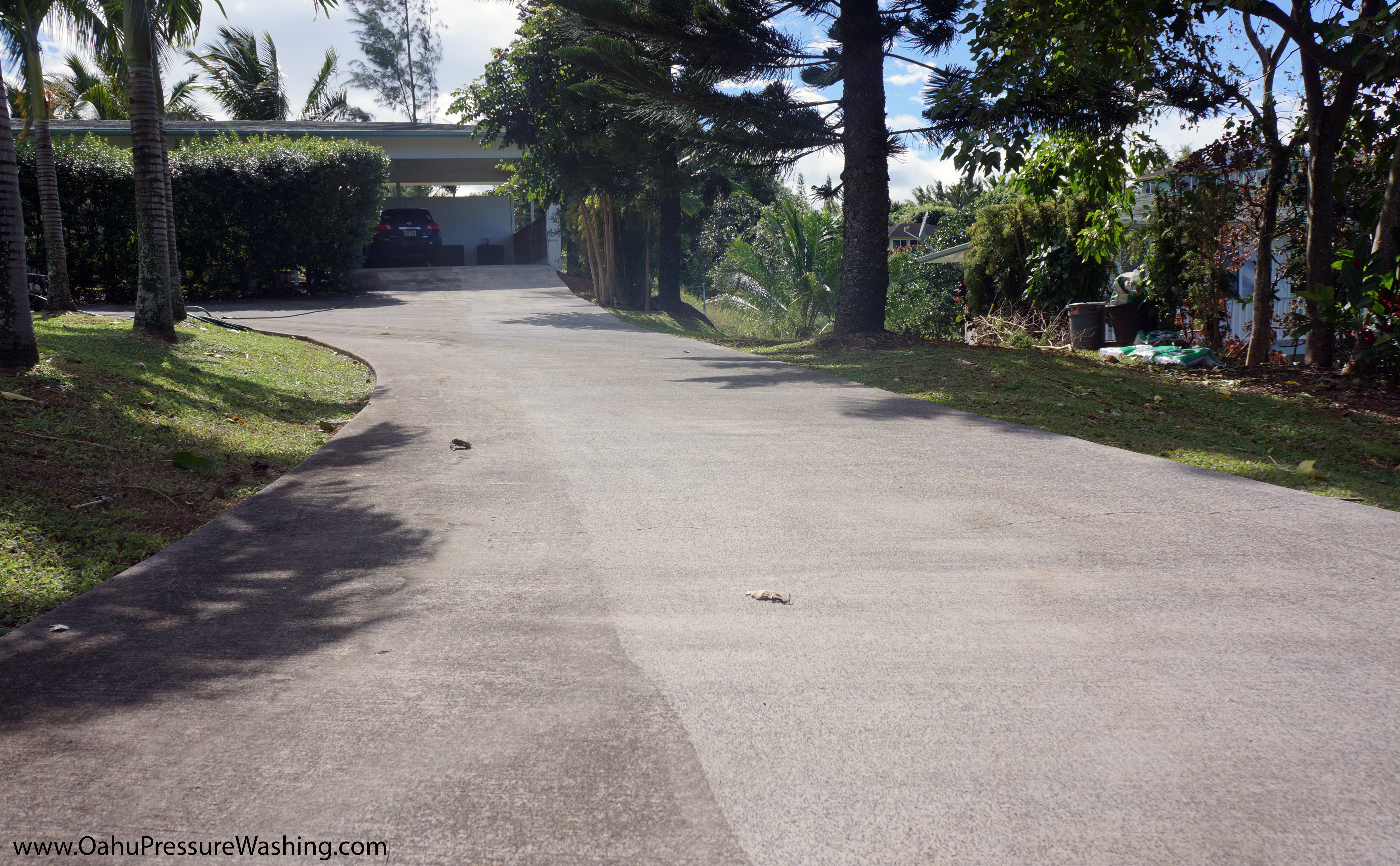 Oahu Concrete Cleaning